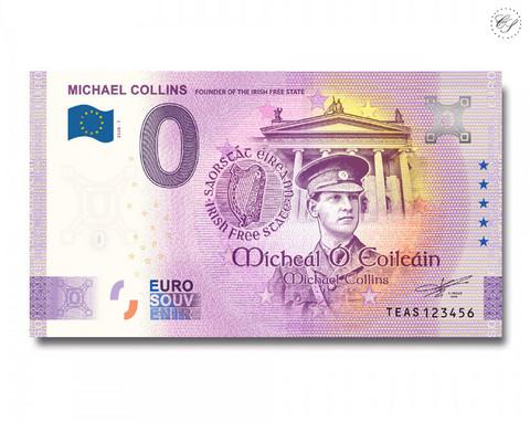 Irlanti 0 € 2020 Michael Collins -juhlavuosiversio UNC
