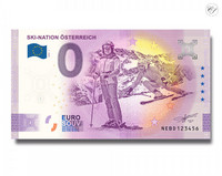 Itävalta 0 € 2020 Laskettelu-nollaseteli -juhlavuosiversio UNC