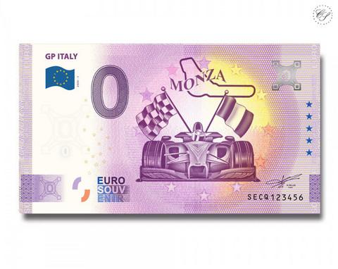 Italia 0 € 2020 Italian GP UNC