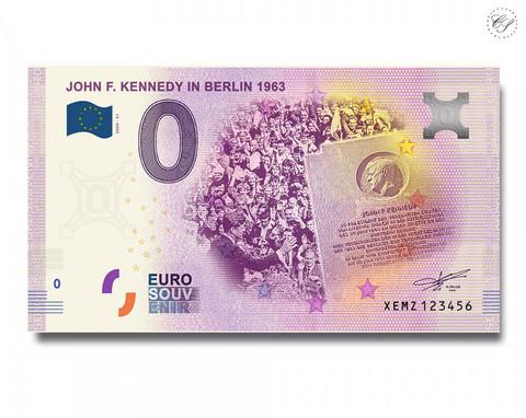 Saksa 0 € 2020 John F. Kennedy & Berliini 1963 UNC