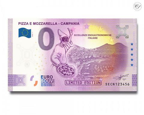 Italia 0 € 2020 Pizza & Mozzarella -juhlavuosiversio UNC
