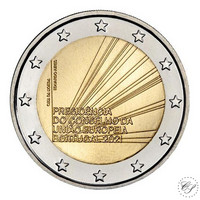 Portugali 2 € 2021 EU-puheenjohtajuus