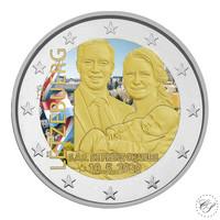 Luxemburg 2 € 2020 Prinssi Charles, väritetty (#2)