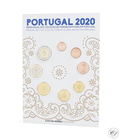 Portugali 2020 FDC rahasarja