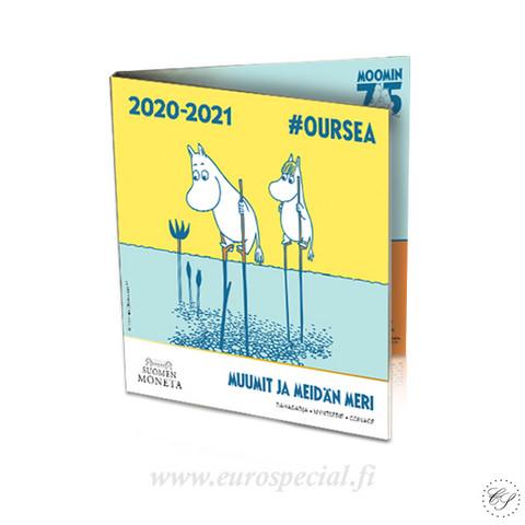 Suomi 2020 Muumit & Meidän meri -rahasarja #OURSEA