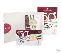 Italia 2 € 2021 Pääkaupunki Rooma 150 v., BU coincard