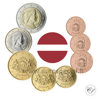 Latvia 1s - 2 € 2021 BU