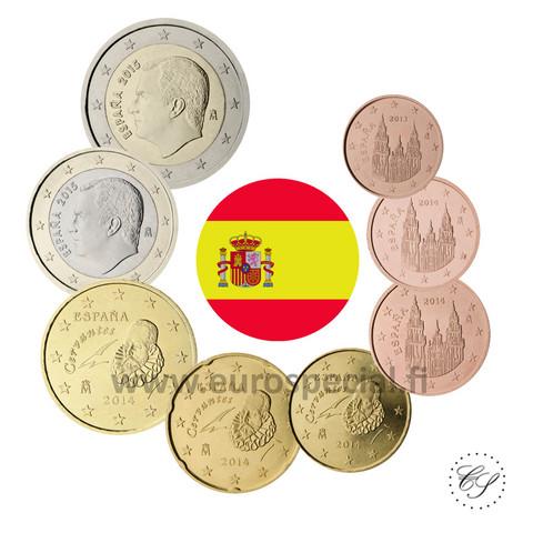 Espanja 1s - 2 € 2021 UNC