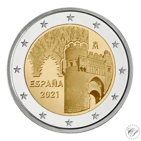 Espanja 2 € 2021 Toledo - Puerta del Sol