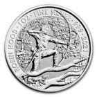 Kuninkaallinen Rahapaja 2021 Robin Hood - Myytit & Legendat 1oz HOPEA