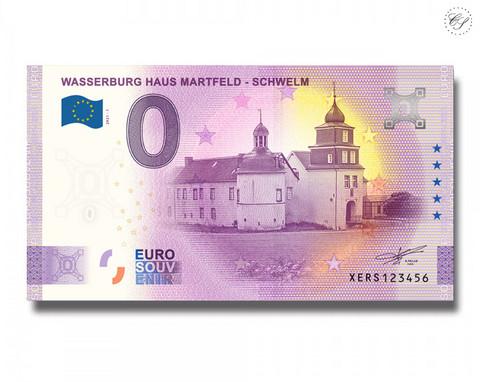 Saksa 0 € 2021 Martfeldin linna UNC