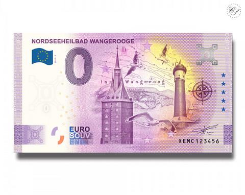 Saksa 0 € 2021 Wangerooge -juhlavuosiversio UNC