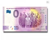 Saksa 0 € 2021 Selbstbestimmungsrecht UNC