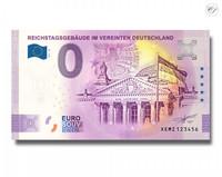 Saksa 0 € 2021 Valtiopäivätalo UNC
