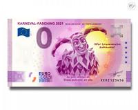 Saksa 0 € 2021 Karnevaali UNC