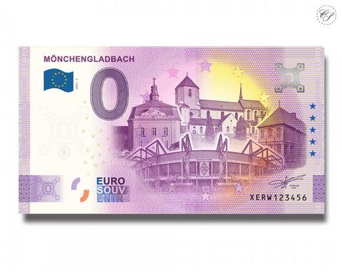 Saksa 0 € 2021 Mönchengladbach -juhlavuosiversio UNC