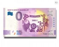 Alankomaat 0 € 2021 Lapsen ensimmäinen seteli UNC