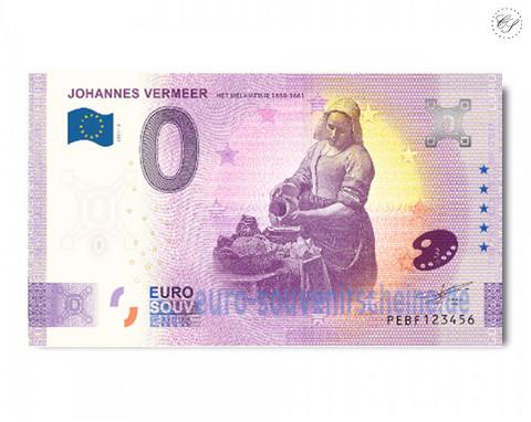 Alankomaat 0 € 2021 Johannes Vermeer 3/6 UNC