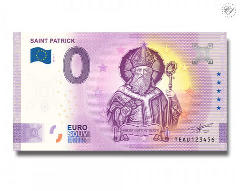 Irlanti 0 € 2021 Saint Patrick UNC