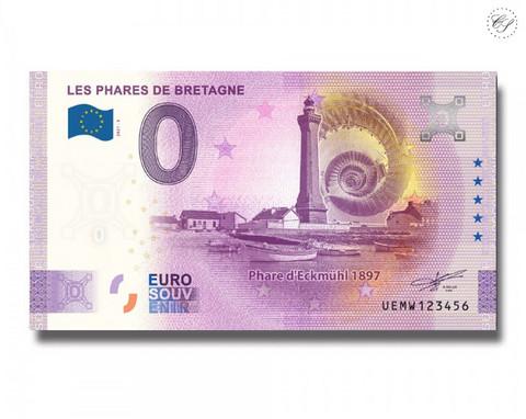 Ranska 0 € 2021 Bretagnen Majakat UNC