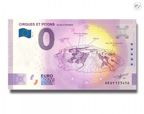Ranska 0 € 2021 Laaksot ja Huiput UNC
