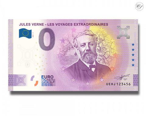 Ranska 0 € 2021 Jules Verne UNC