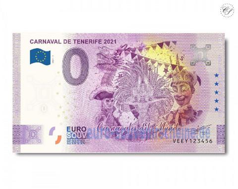 Espanja 0 € 2021 Teneriffan Karnevaali UNC