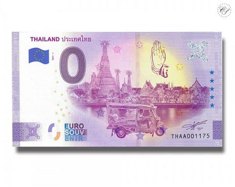 Thaimaa 0 € 2021 Nähtävyydet -juhlavuosiversio UNC