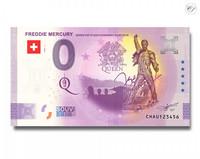 Sveitsi 0 € 2021 Freddie Mercury UNC