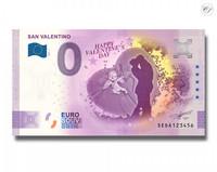 Italia 0 € 2021 Ystävänpäivä -juhlavuosiversio UNC