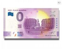 Ranska 0 € 2021 Nizzan Massenan aukio UNC