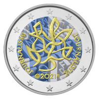 Suomi 2 € 2021 Journalismi & Tiedonvälitys, väritetty (#5)
