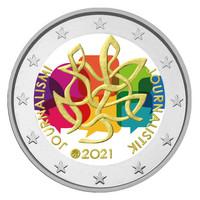 Suomi 2 € 2021 Journalismi & Tiedonvälitys, väritetty (#4)