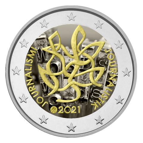 Suomi 2 € 2021 Journalismi & Tiedonvälitys, väritetty (#3)