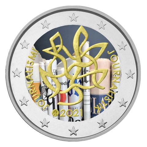 Suomi 2 € 2021 Journalismi & Tiedonvälitys, väritetty (#1)