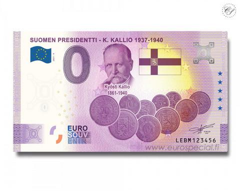 Suomi 0 € 2021 Kyösti Kallio - Suomen Presidentit Special Edition UNC