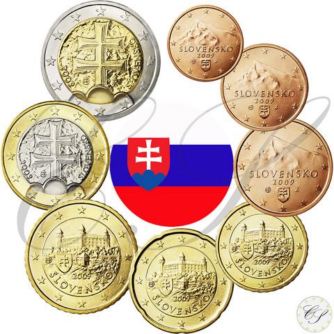 Slovakia 1s - 2 € 2012 BU
