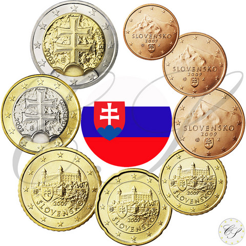 Slovakia 1s - 2 € 2015 BU