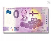 Suomi 0 € 2021 Risto Ryti - Suomen Presidentit Special Edition UNC