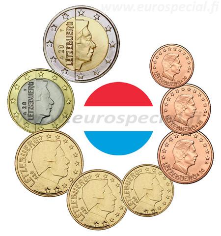 Luxemburg 1s - 2 € 2021 UNC