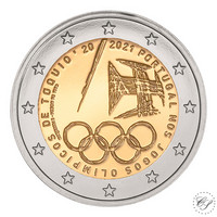 Portugali 2 € 2021 Tokion olympialaiset