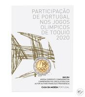 Portugali 2 € 2021 Tokion olympialaiset BU coincard
