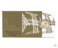 Portugali 2 € 2021 Tokion olympialaiset, Proof