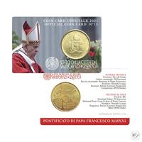 Vatikaani 50s 2021 Vatikaanin vaakuna BU coincard