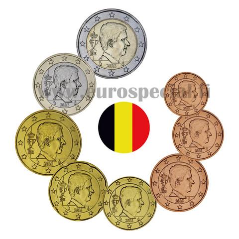 Belgia 1s - 2 € 2016 BU