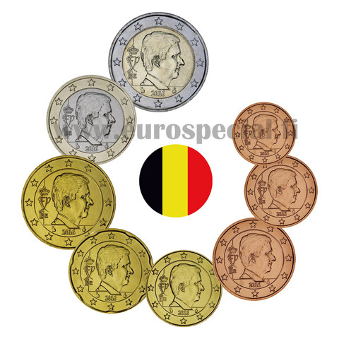 Belgia 1s - 2 € 2014 BU