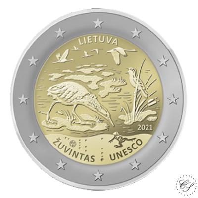 Liettua 2 € 2021 Zuvintasin biosfäärialue