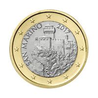 San Marino 1 € 2021 La Césta UNC