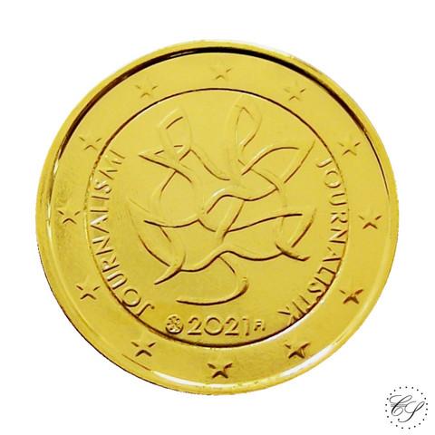 Suomi 2 € 2021 Journalismi & Tiedonvälitys, kullattu