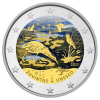 Liettua 2 € 2021 Zuvintasin biosfäärialue, väritetty (#2)